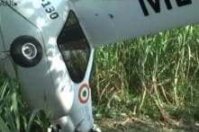 IAF's Microlight Aircraft Crashes in UP's Baghpat