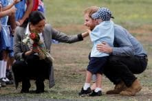 This 5-Year-Old Boy Couldn't Get Enough of Prince Harry and His Beard