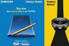 Samsung Galaxy S9+, Note 9 Gets New Colour Options And Cashback Offers on Paytm