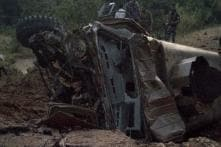 Four CRPF Personnel Killed as Naxals Blow up Bullet-proof Bunker Vehicle in Chhattisgarh