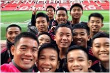 Watch: Thai Cave Boys Visit Old Trafford & Cheer as Manchester United Beat Everton
