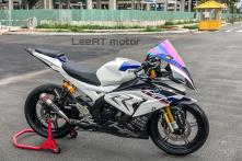 Yamaha YZF-R15 Modified to Look Like BMW S1000RR HP4 Race Limited Edition Bike Worth Rs 84 Lakh