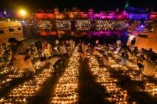 Ayodhya Celebrates Diwali with Temple Visits, Illuminated Ghats in Grand 'Deepotsav'