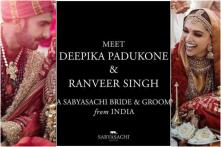DeepVeer Wedding: Sabyasachi Dresses the Newlyweds in Color of Love, See Pics