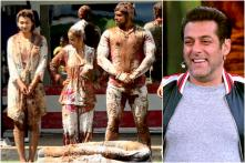 Bigg Boss 12 Weekend Ka Vaar: Happy Club Vents Out Their Frustration by Dunking Jasleen and Rohit in Cow Dung