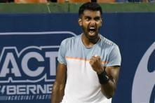 Prajnesh Beats Clarke for Second Straight Masters Main Draw Appearance