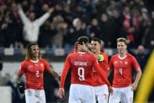 Haris Seferovic Hat-trick Helps Swiss Stun Belgium to Reach Semis