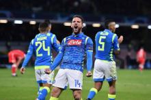 Mertens, Hamsik Lift Napoli But Battle for Knock-out Round Goes Down to the Wire