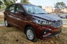 Upcoming Maruti Suzuki Ertiga 2018 Spied Completely Undisguised, Interiors Spied Too