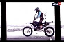 Japanese Man Does Motorcycle Stunts On New Zealand's Sky Tower