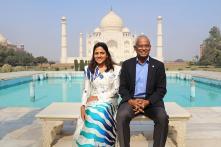 Famous Personalities Visit Taj Mahal - The Iconic Symbol of Love