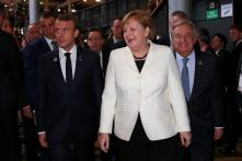 Emmanuel Macron, Angela Merkel, UN Chief Guterres Target Donald Trump's World View