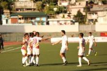 East Bengal beat Shillong Lajong 3-1, Go Top of Table