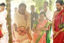 KCR Holds Grand Yagam at Farmhouse Ahead of Next Round of Electioneering for Assembly Elections