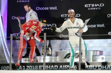 Lewis Hamilton and Sebastian Vettel Swap Helmets Sign of Mutual Respect