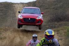 Suzuki Swift vs Dirt Bike vs ATV Off-Road Race is as Cool as it Sounds – Watch Video