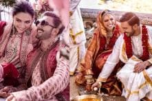 Deepika Padukone, Ranveer Singh Look Happy and Radiant in These Wedding Pictures: See Here