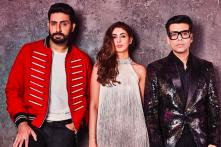 Flanked by the Best Boys: Shweta, Abhishek Bachchan on Koffee with Karan