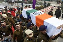 Slain J&K Police Constable Chandrika Prasad's Wreath-Laying Ceremony