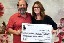 US Couple Wins $1.8 Million Jackpot on Thanksgiving After Finding Discarded Lottery Ticket