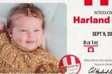 KFC Awards Family $11,000 For Naming Their Newborn After Founder Colonel Sanders