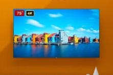 Xiaomi Mi TV 4S 75-Inch With 4K Display, HDR Support Launched: Price, Specifications And More