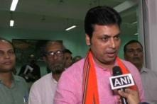 Biplab Deb Says it Takes Crores to Set up Industries, Distributing Cows Will Ensure Earnings in 6 Months