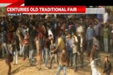 Centuries-old Tradition Of Stone-Pelting Marked In Himachal Pradesh's Dhami Village