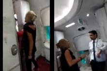 Watch: Drunk Irish Flyer Spits at Air India Crew, Hurls Abuses After Being Denied More Booze