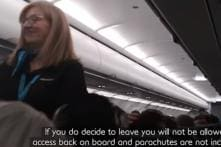 A Flight Attendant's Impromptu 'Stand-Up' Performance Has Left the Passengers in Splits