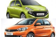 Hyundai Santro Vs Tata Tiago Compact Hatchback Spec Comparison; Prices, Features And More