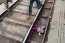 One-year-old Emerges Unhurt After Train Passes Over Her in Mathura. Video Will Make You Squirm