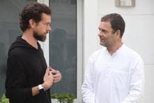 Twitter CEO Jack Dorsey Meets Congress President Rahul Gandhi, Steps to Curb Fake News Discussed
