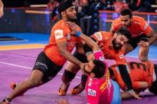 PKL 2018: UP Yoddha Edge Out U Mumba 34-32