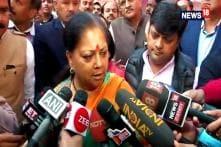 'Rajasthan Will Vote For BJP': Vasundhra Raje