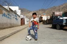Afghan 'Messi Boy' Forced to Flee Home After Deadly Taliban Attack