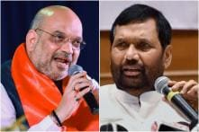 With Kushwaha Joining Opposition Front, Amit Shah Meets Paswan over Seat-sharing Deal