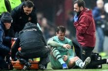 Arsenal's Holding Out For Season After Cruciate Ligament Damage