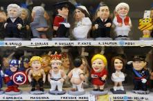 Britain's Theresa May Joins Catalonia's 'Pooper' Party as Christamas Figurine