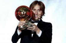 Modric Sees Off France World Cup Stars to End Messi, Ronaldo's Decade-long Dominance on Ballon d'Or