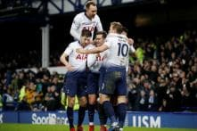 Kane and Son Score Two Each as Spurs Hit Everton for a Six