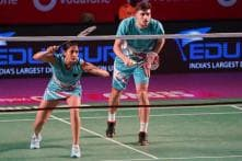 Ashwini Ponnappa and Christiansen Mathias Hand Awadhe Warriors Win Against Pune 7 Aces