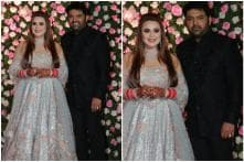 Kapil Sharma and Ginni Chatrath Dazzle at Their Wedding Reception in Rimple-Harpreet Narula's Outfits