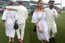 'Virushka' Celebrate Team India's Historic Test Win in Style; See Pics