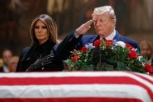 In Pictures: George HW Bush's State Funeral in Capitol Rotunda