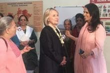 Hillary Clinton Meets Rural Women Artisans with Anita Dongre in Ahmedabad