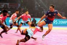 Pro Kabaddi 2018: Dabang Delhi Play Out Draw With Jaipur Pink Panthers