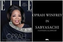Oprah Winfrey Turns Cover Star for Elle in a Stunning Sabyasachi Ensemble