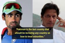 After Naseeruddin Shah, Mohammad Kaif Lashes Out at Imran Khan's 'Minority' Remark