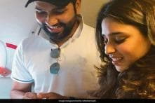 Rohit Sharma Shares Glimpse of Baby Girl, Greets Twitter Followers for the New Year